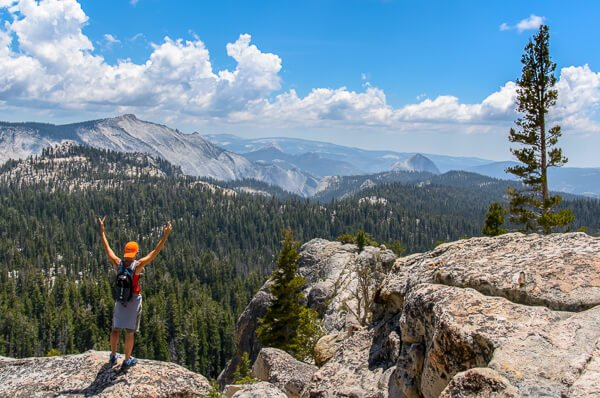 Shortest Backcountry Hike: May Lake